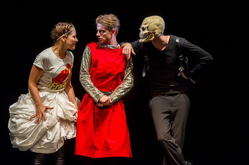 Being Human Parzival/ Szenenfoto/ Theater der Jugend, Wien