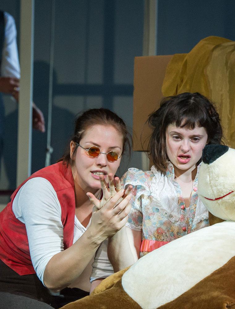 The Miracle Worker/ Szenenfoto/ Theater der Jugend, Wien