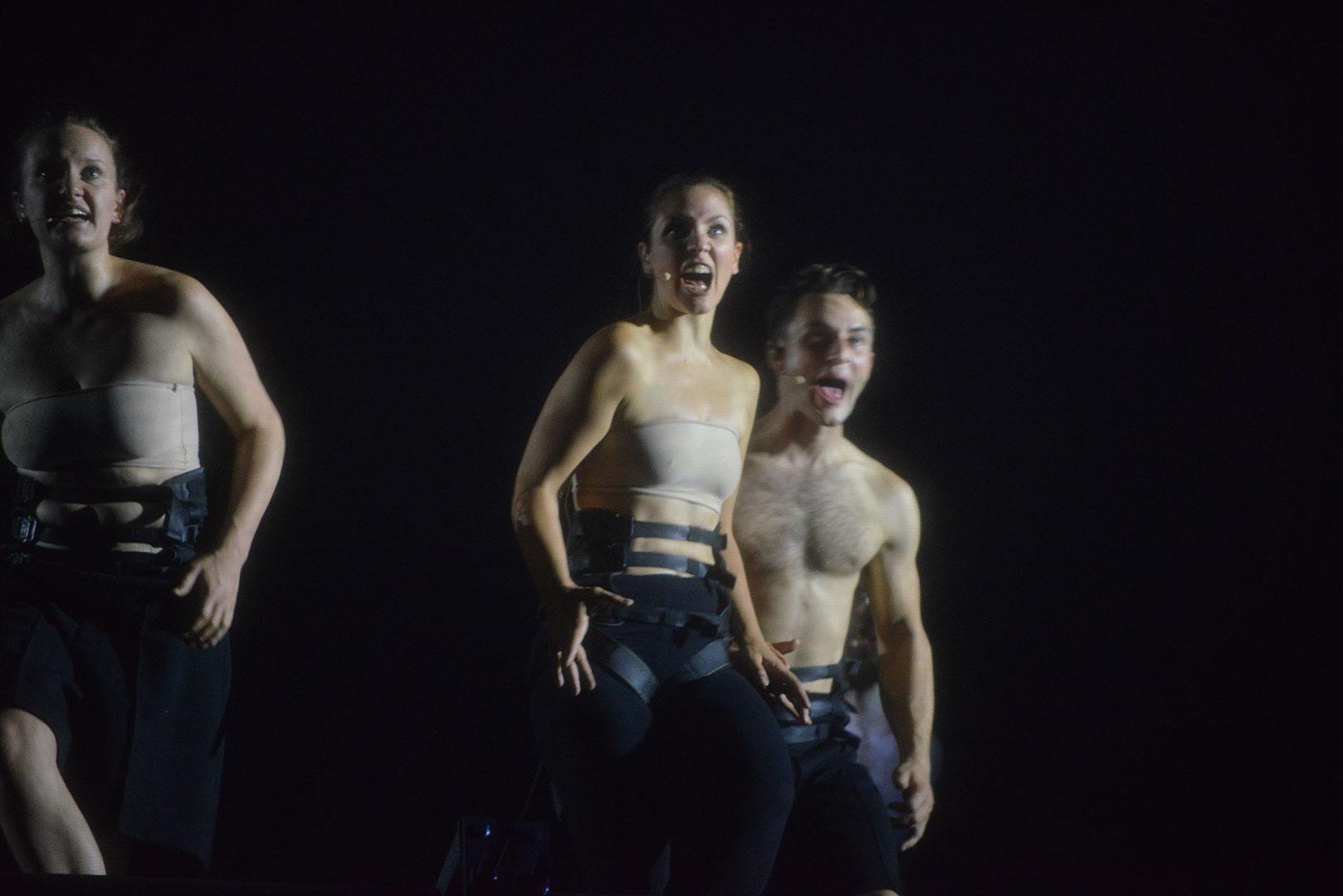 DIE BAKCHEN/ Burgtheater by Fritz Novopacky
